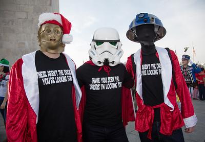 Steven Lemmeyer, Aric Sottler, Ben Galdi are invadors from Star Wars