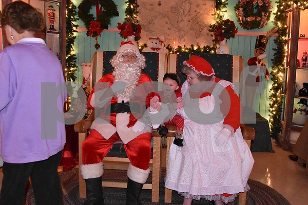 Santa's Magic Forest Taken on 12/1/17