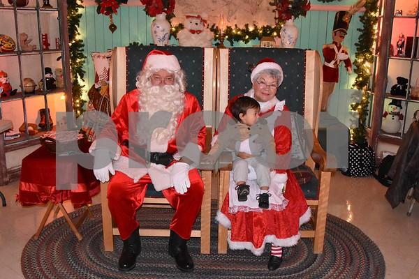 Santa's Magic Forest Taken on 12/2/17