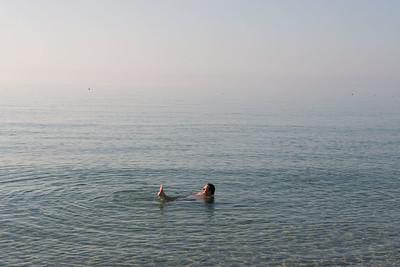 Strand en zee van Costa Rei.