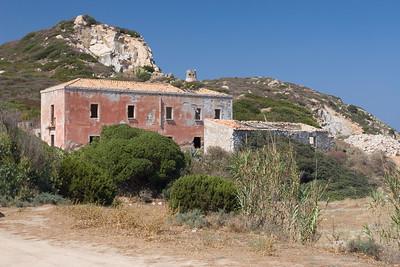 Kust in de buurt van Villasimius.