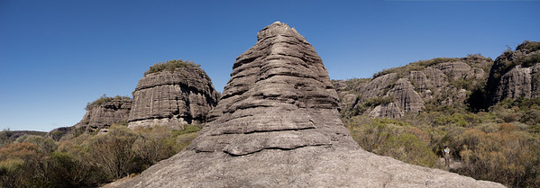 The Seven God's Pinnacles in the Monolith Valley.