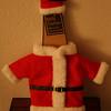 Santa suit for the wine bottle! :)