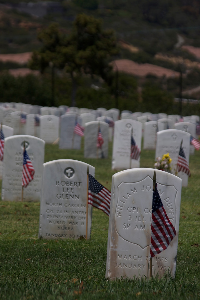 Fort Rosecrans on Memorial Day