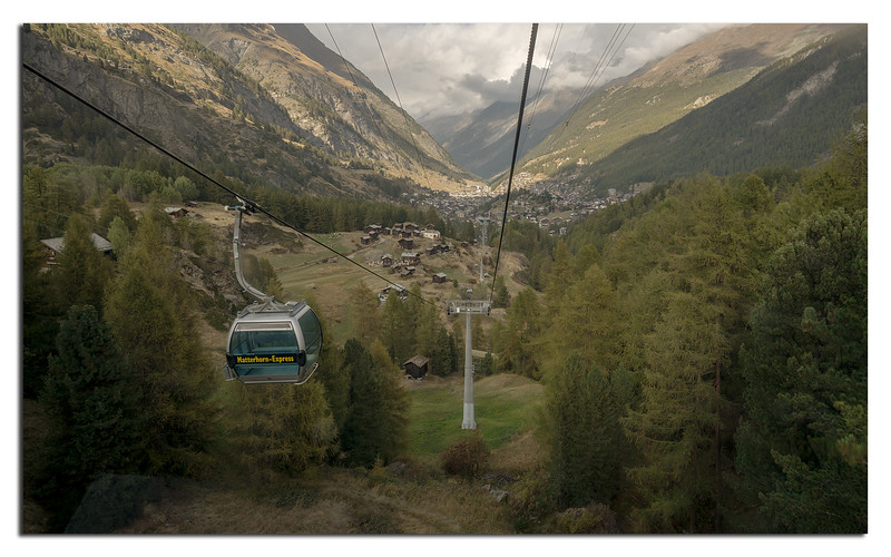 16. Zermatt-Furi by air.......