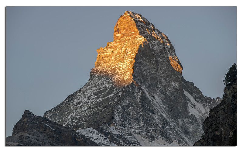18. Famous Matterhorn in the mornings first light. Such a dangerous icon.