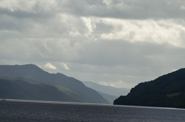 On Loch Ness on the boat the Jacobite Queen