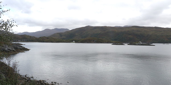 Allt a' Mhama and Loch Nan Uamh 21 September 2018