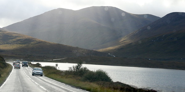 Heading south west along the side of Loch Ainort