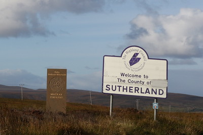 Entering Sutherland 28 September 2018