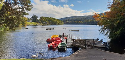 Loch-side Cafe, Pitlochry 29 September 2018