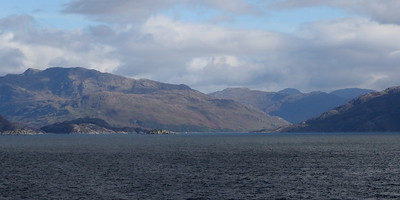 Looking into the entrance of Loch Nevis (nowhere near Ben Nevis)