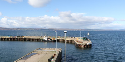 The view across to Skye from Mallaig