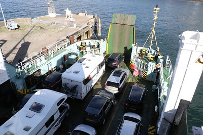 Rear ramp of MV Lord of the Isles