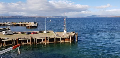 Mallaig Harbour and Isle of Skye