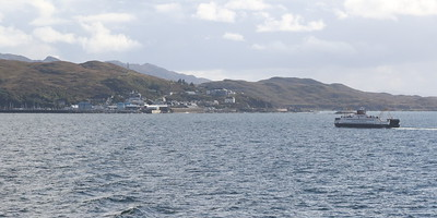 MV Loch Fyne heading to Mallaig