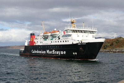 MV Lord of the Isles approaching Mallaig