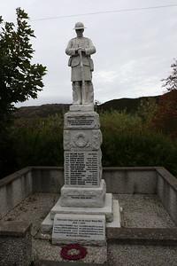 War Memorial at Scourie