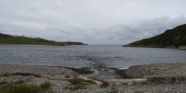 Looking out of Scourie Bay towards The Minch