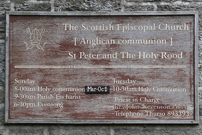 The Church of St Peter and The Holy Rood, Thurso 26 September 2018
