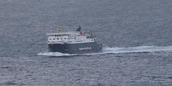 Uig and MV Hebrides 22 September 2018