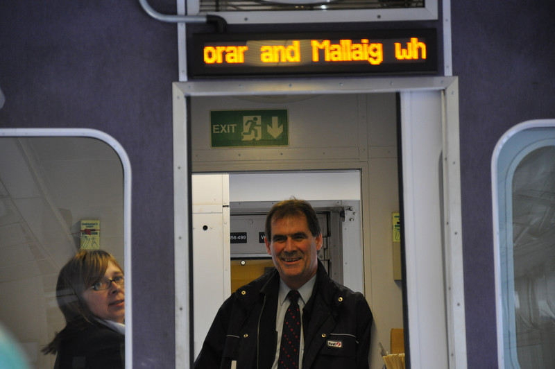 There are friendly and efficient staff on the Glasgow to Mallaig train service