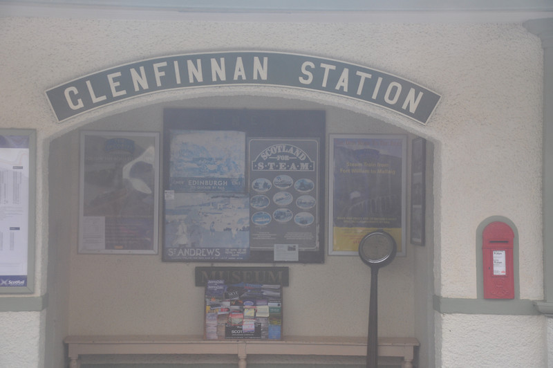Glenfinnan Station has a museum to remind us of the way railways used to be. Steam trains run on the West Highland line in the summer and autumn