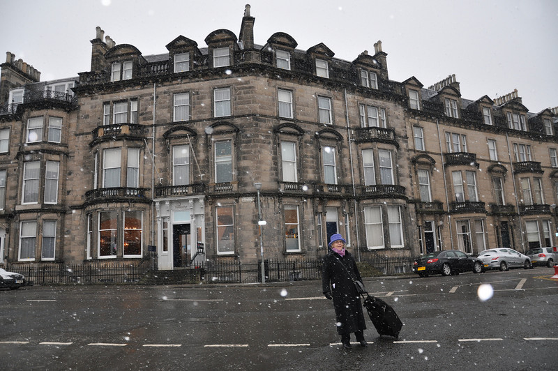It's not obvious that it's the Edinburgh West Travelodge. Located at the west end of Eglington Crescent where Ian worked for Scottish Brewers (with Alan Gordon, Alistair Hammond-Chambers, Ken Stewart, Brian Stewart and David Brook) in the early 1980s