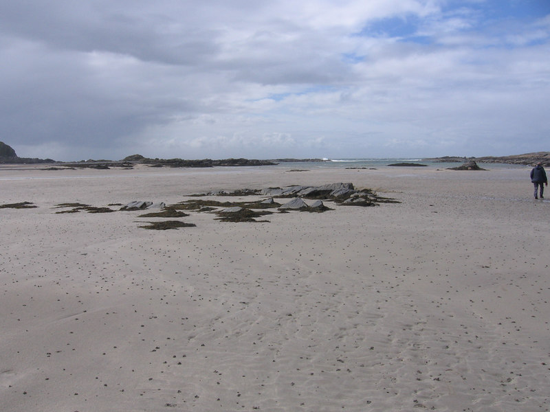 One of Colonsay's beautiful beaches.