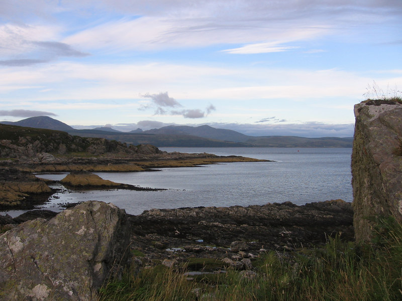 View towards Arran from Goat Island.