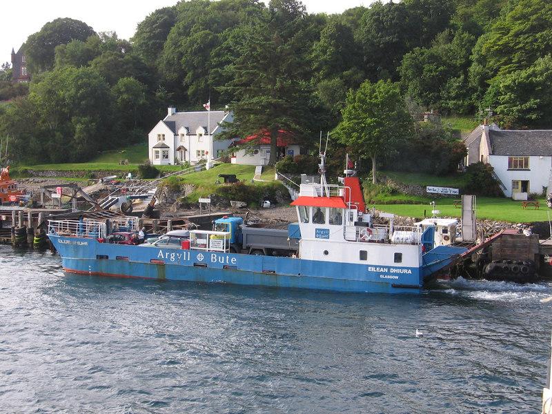 EILEAN DHIURA at Port Askaig, Islay.