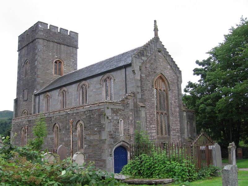 The church at Kilmartin.