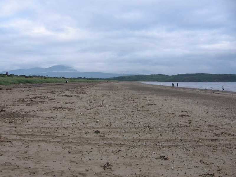 Carradale Bay, Looking towards Arran.