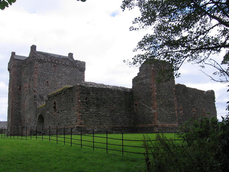 Skipness Castle.