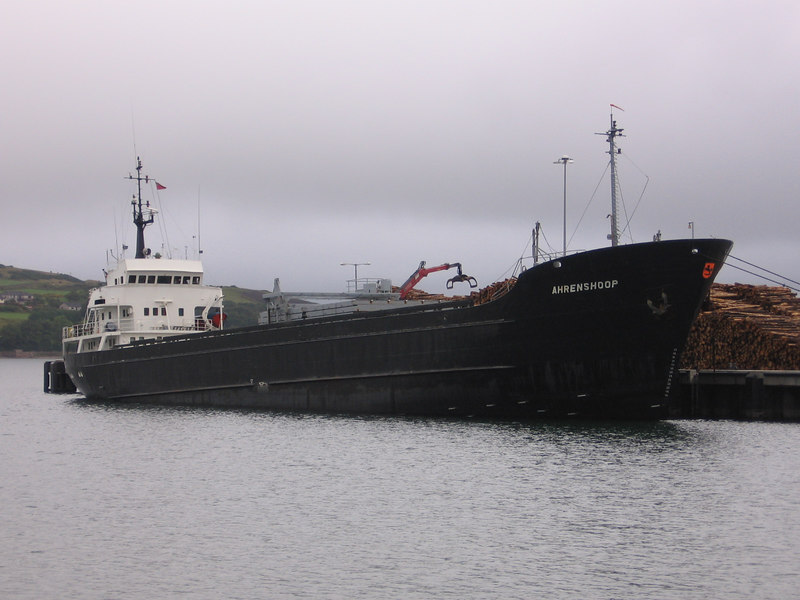 Crago Vessel AHRENSHOOP at Campbeltown.