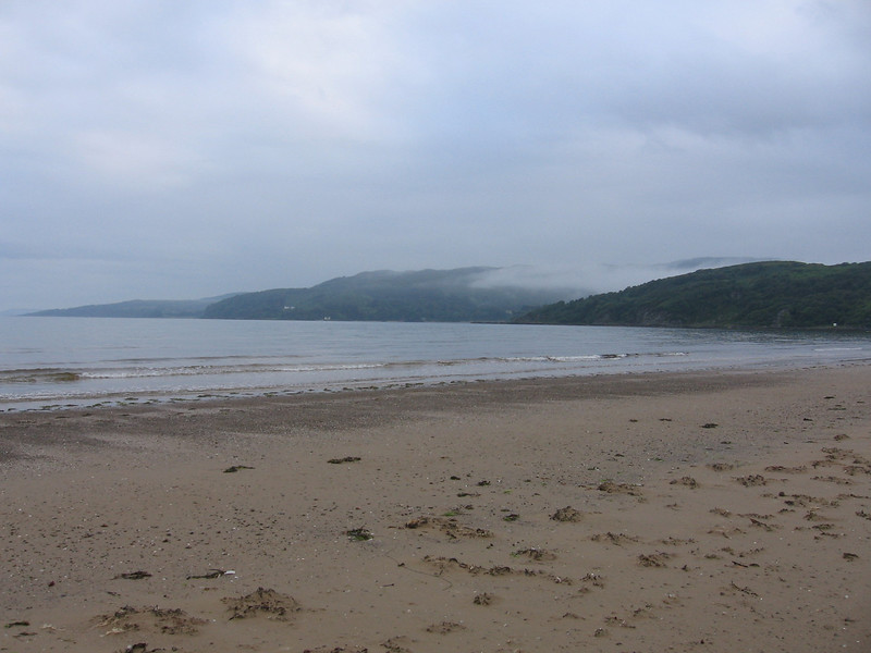 Carradale Bay, looking on to Kintyre.