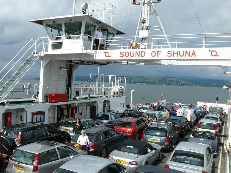A very busy SOUND OF SHUNA.