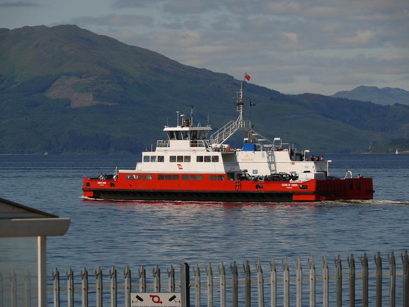 Sound of Sanda heads for Hunter's Quay.