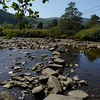 Stepping stones over River Carra