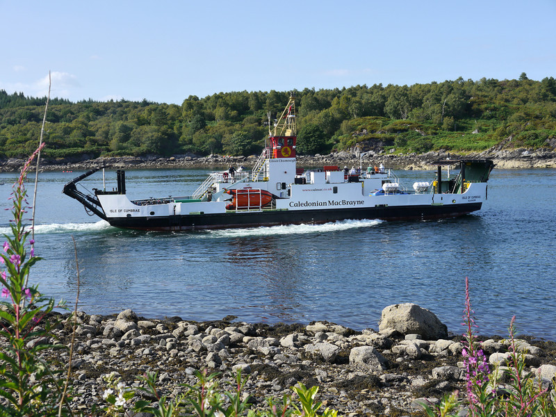 Isle of Cumbrae leaving Tarbert