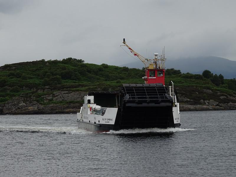 Isle of Cumbrae arrives at Portavadie