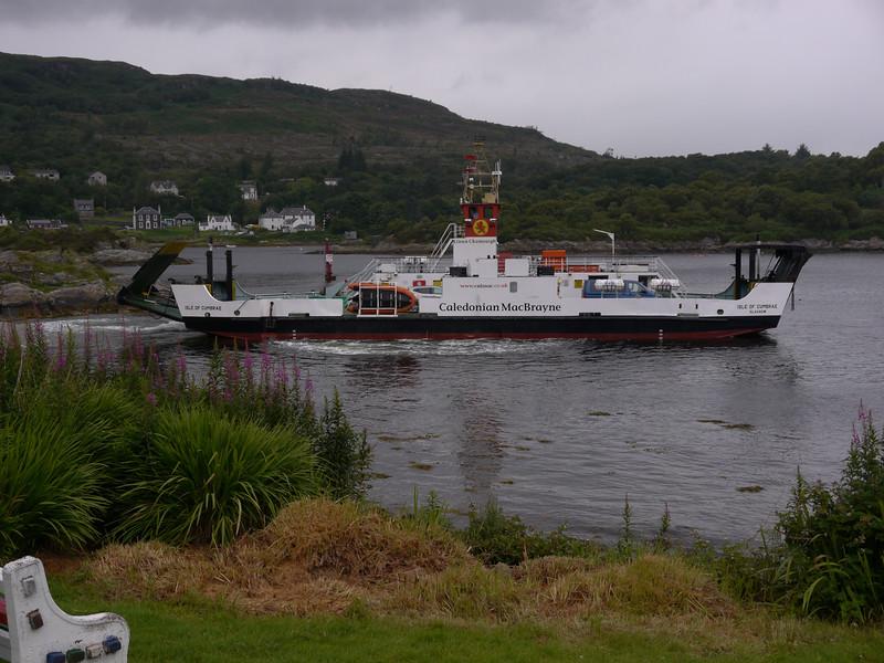 Isle of Cumbrae departs for Portavadie