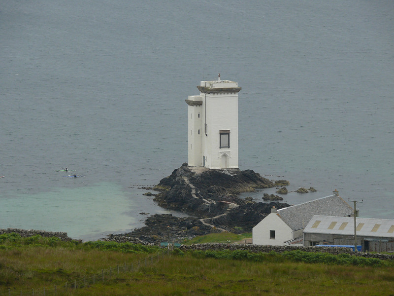 Port Ellen Lighthouse.