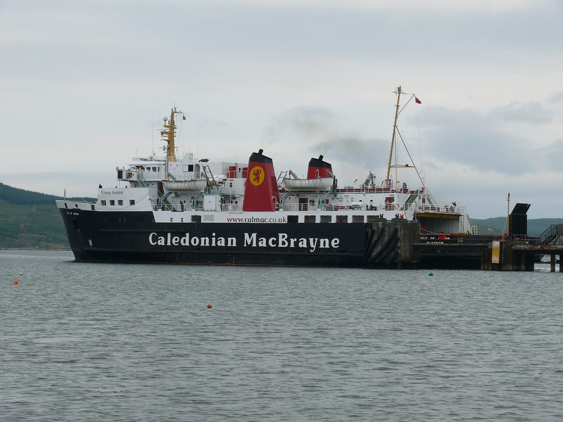 ISLE OF ARRAN leaving Port Ellen.