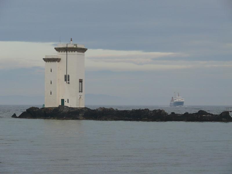 ISLE OF ARRAN off Port Ellen Lighthouse.