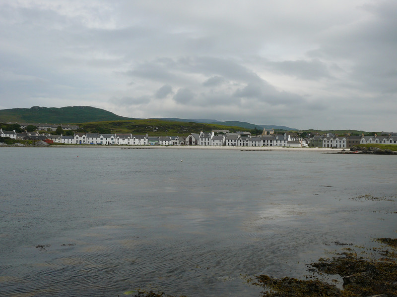 Port Ellen seafront.