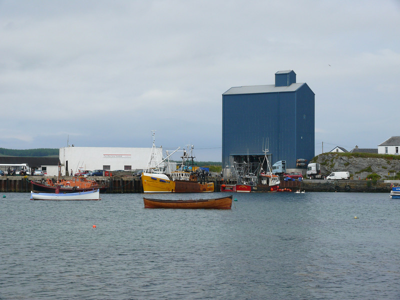 Port Ellen harbour.