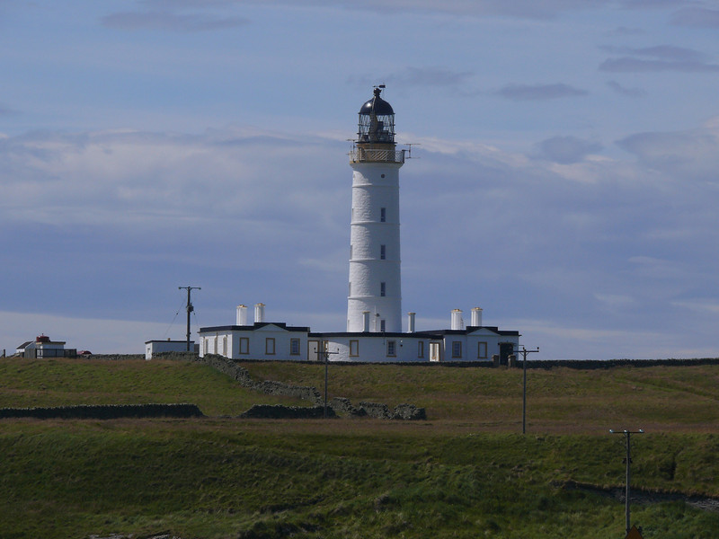 Lighthouse, on the island of Orsay off Portnahaven.