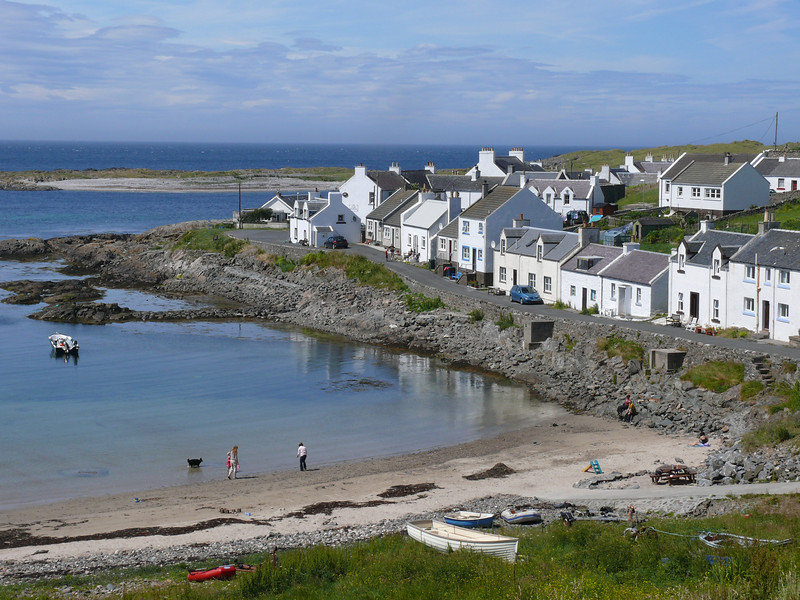 The village of Portnahaven.
