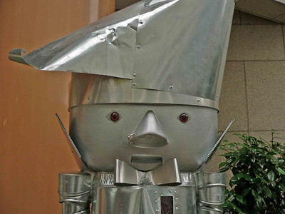 The Tin Cracker....Only in Seattle would the TinMan have a NOSE RING!